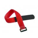 NIKOMAX NMC-CTV290-20-HB-RD-10 Стяжка-липучка с жесткой пряжкой