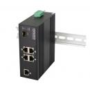 OSNOVO SW-40501/IC Промышленный PoE коммутатор