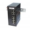 OSNOVO SW-80822/IC Промышленный PoE коммутатор