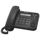 Panasonic KX-TS2358RUB Телефон проводной (черный)