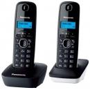 Panasonic KX-TG1612RU1 DECT телефон (черный)