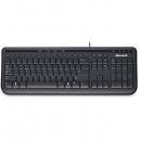 MICROSOFT Wired 600 Клавиатура , USB, черный [anb-00018]