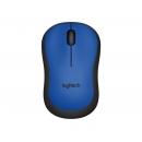 LOGITECH M220 Silent Мышь  оптическая беспроводная USB, синий [910-004879]