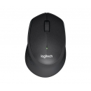 LOGITECH M330 Silent Plus Мышь оптическая беспроводная USB, черный [910-004909]