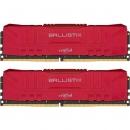Crucial Ballistix Red DIMM DDR4 2x8Gb Оперативная память (BL2K8G26C16U4R)