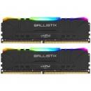 Crucial Ballistix Black RGB DIMM DDR4 2x16Gb Оперативная память (BL2K16G32C16U4BL)