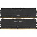 Crucial Ballistix Black DIMM DDR4 2x8Gb Оперативная память (BL2K8G24C16U4B)