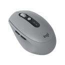 LOGITECH M590 Silent Мышь , оптическая, беспроводная, USB, серый [910-005198]