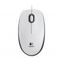 Logitech Mouse M100 USB White проводная мышь [910-005004]