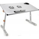 Crown CMLS-101 (silver) подставка охлаждения для ноутбуков