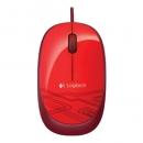 LOGITECH M105 Мышь  оптическая проводная USB, красный [910-002945]