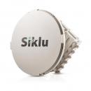 SikluEtherHaul-2200FX ODU with ADAPTER, Tx High Power: POE, 1GE capacity ports:2xcopper+ 2xfiber.