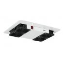 TLK-FAN4-F-GY Вентиляторный блок для напольного шкафа