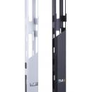 TLK-OV650C-42U-BK  Органайзер кабельный вертикальный