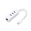 TP-LINK UE330 3-портовый концентратор и гигабитный адаптер USB 3.0
