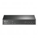 TP-LINK TL-SF1009P 9-портовый настольный 10/100 Мбит/с коммутатор с 8 портами PoE+