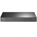 TP-LINK TL-SG1210P 10-портовый настольный неуправляемый гигабитный коммутатор с 8 портами PoE+