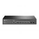 TP-LINK T2500G-10TS v2 JetStream 8-портовый гигабитный управляемый коммутатор 2 уровня с 2 SFP-слотами