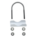 Ubiquiti Pole Clamp и U-bolt для M2-400 и M5-400