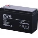 CyberPower Standart series RС 12-7.2 Аккумуляторная батарея