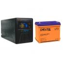 Комплект ИБП Энергия Гарант-500 и Аккумулятор Delta DTM 1255 L