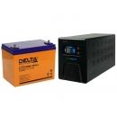 Комплект ИБП Энергия Гарант-750 и Аккумулятор Delta DTM 1275 L