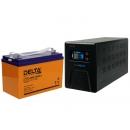 Комплект ИБП Энергия Гарант-750 и Аккумулятор Delta DTM 12100 L