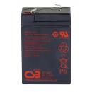 CSB GP645 Аккумулятор 6В 4,5Ач