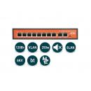 Wi-Tek WI-PS210 (v2) PoE-коммутатор