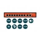 Wi-Tek WI-PS308G (v2) PoE-коммутатор