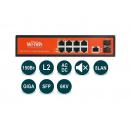 Wi-Tek WI-PMS310GF PoE-коммутатор