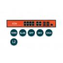 Wi-Tek WI-PMS312GF PoE-коммутатор