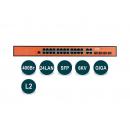 Wi-Tek WI-PMS328GF PoE-коммутатор