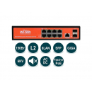 Wi-Tek WI-PMS310GF-24V PoE-коммутатор