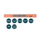 Wi-Tek WI-PMS326GF-24V PoE-коммутатор