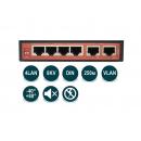 Wi-Tek WI-PS206-I PoE-коммутатор