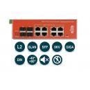 Wi-Tek WI-PMS312GF-I PoE-коммутатор
