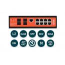 Wi-Tek WI-PMS312GF-I (v2) PoE-коммутатор
