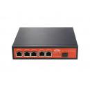 Wi-Tek WI-PS306GF-UPS PoE-коммутатор с контроллером солнечных панелей