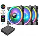Riing Trio 12 RGB Radiator Fan кулер TT Premium Edition 3 Pack/Fan/12025/PWM 500~1500rpm/Triple Riing/LED software control CL-F072-PL12SW-A