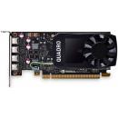 Dell Quadro P1000 4GB 4 mDP, Low Profile Видеокарта