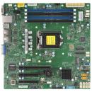 Supermicro X11SCL-F Серверная материнская плата