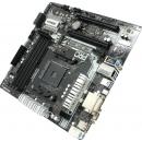 ASROCK A320M  Pro4, SocketAM4, AMD A320, mATX, Ret Pro4 Материнская плата