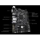 GIGABYTE H310M S2 2.0, LGA 1151v2, Intel H310C, mATX, Ret Материнская плата
