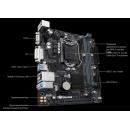 GIGABYTE H310M S2V, LGA 1151v2, Intel H310, mATX, Ret Материнская плата
