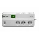 APC PM6U-RS Essential SurgeArrest Сетевой фильтр 6 розеток