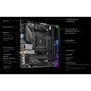 ASUS ROG STRIX B450-I GAMING Материнская плата , SocketAM4, AMD B450, mini-ITX, Ret 90MB0Z50-M0EAY0