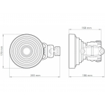 RF elements 40° Sector SH-TP 5-40