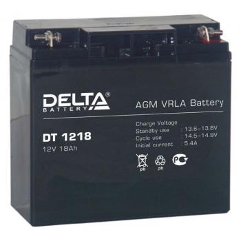 Delta DT 1218 Аккумулятор