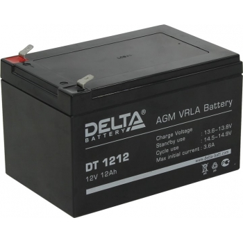 Delta DT 1212 Аккумулятор